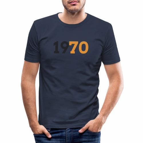 1970 - Slim Fit T-shirt herr