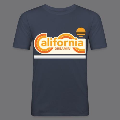 CALIFORNIA DREAMIN Tee Shirts - Men's Slim Fit T-Shirt