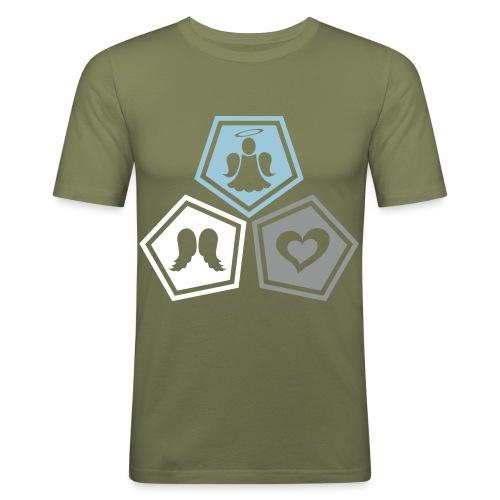 Tee shirt baseball Enfant Trio ange, ailes d'ange - Men's Slim Fit T-Shirt
