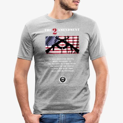 2nd Amendment - Männer Slim Fit T-Shirt