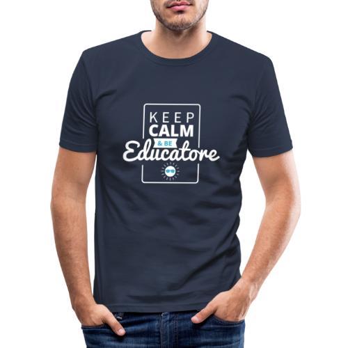 Educatore - Maglietta aderente da uomo