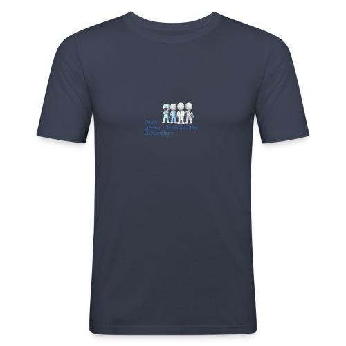 Aus gesundheitlichen Gründen - Männer Slim Fit T-Shirt