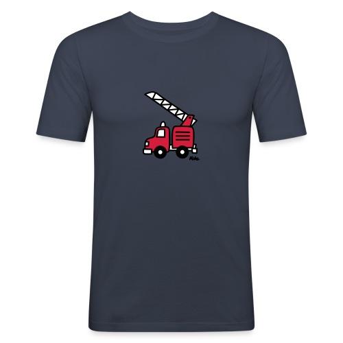 Feuerwehrauto (c) - Männer Slim Fit T-Shirt