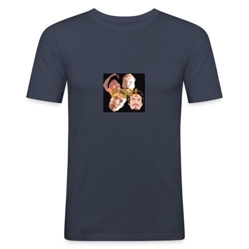 EQM LOGO - Slim Fit T-shirt herr