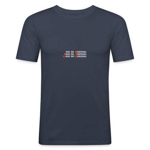 Møre og Romsdal - Slim Fit T-skjorte for menn