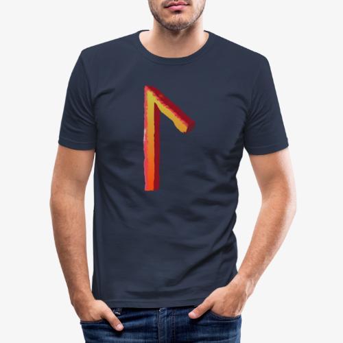 Rune Laukaz - Männer Slim Fit T-Shirt