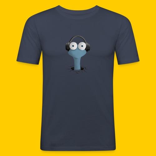 Musicworm - Slim Fit T-shirt herr