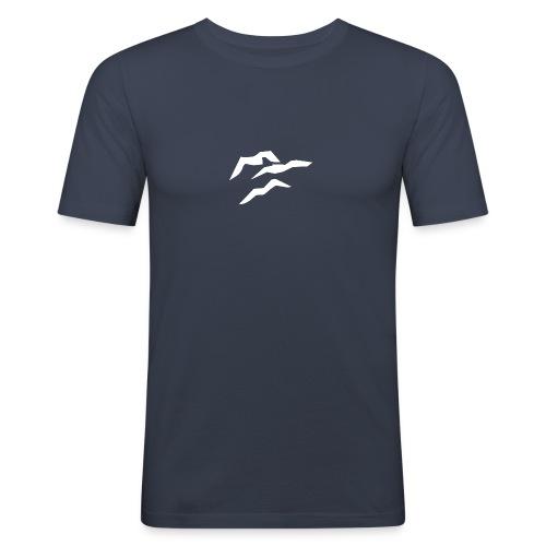 moewen weiss - Männer Slim Fit T-Shirt
