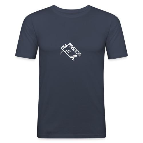 My Passion - Männer Slim Fit T-Shirt