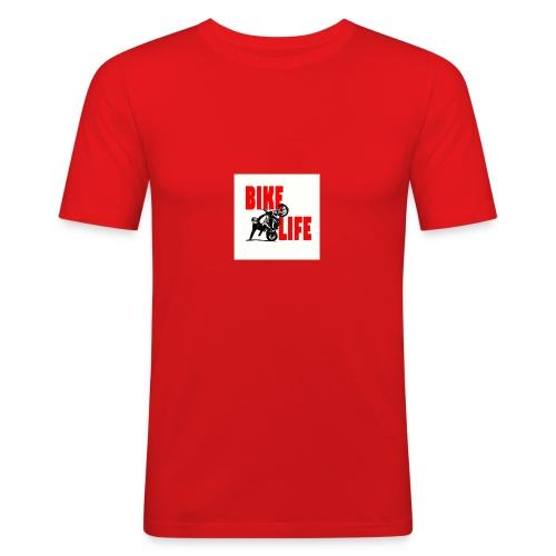 KEEP IT BIKELIFE - Men's Slim Fit T-Shirt