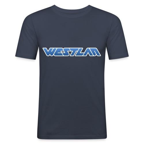 WestLAN Logo - Men's Slim Fit T-Shirt