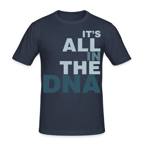 all_in_the_dna - Men's Slim Fit T-Shirt
