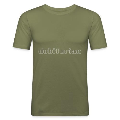 dubiterian1 gif - Men's Slim Fit T-Shirt