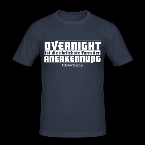 Overnight - Männer Slim Fit T-Shirt