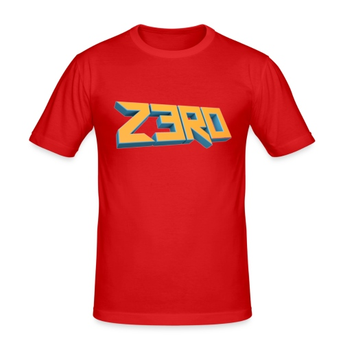 The Z3R0 Shirt - Men's Slim Fit T-Shirt