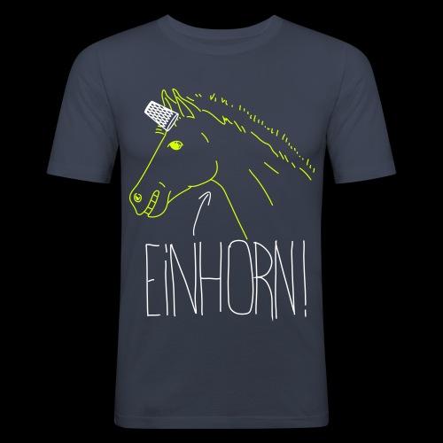 Einhorn - Männer Slim Fit T-Shirt