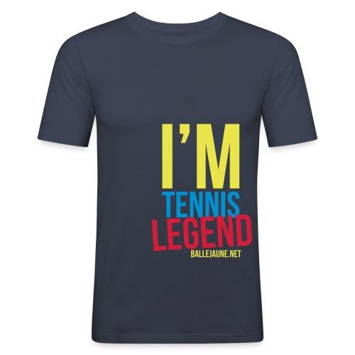 im-tennis-legend - T-shirt près du corps Homme