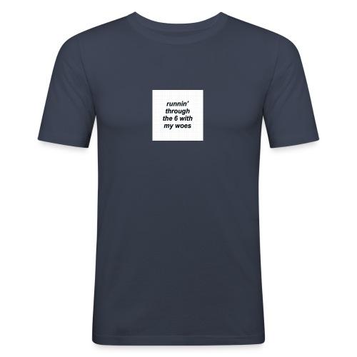 cap woes - slim fit T-shirt