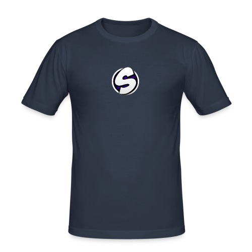 SilkyFX logo - Mannen slim fit T-shirt