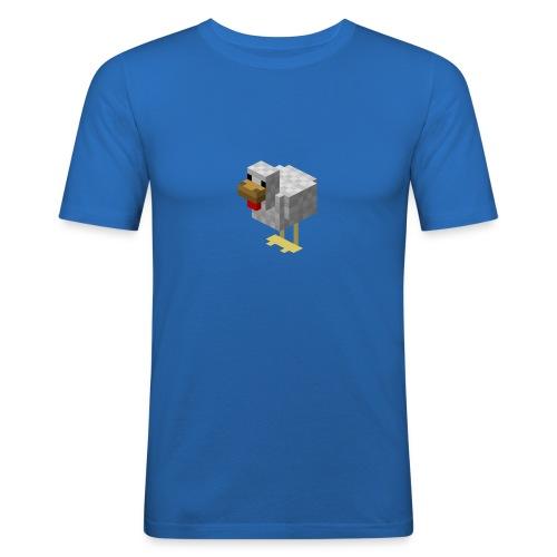 514px Chicken - Maglietta aderente da uomo