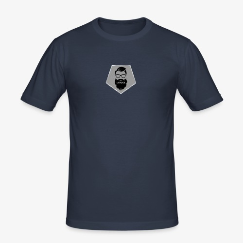 Official Laidback Logo - Men's Slim Fit T-Shirt