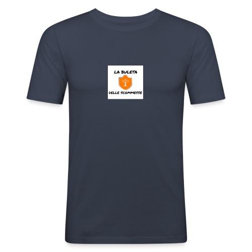La Buleta delle Sommesse - Maglietta aderente da uomo