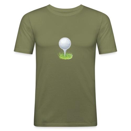 Golf Ball PNG Clipart - Camiseta ajustada hombre