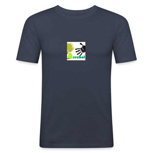 logo_arrebol_bueno - Camiseta ajustada hombre