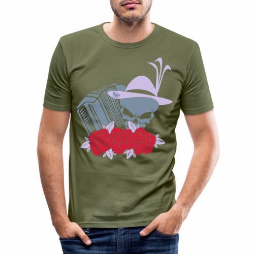 Rock Harmonika - Männer Slim Fit T-Shirt