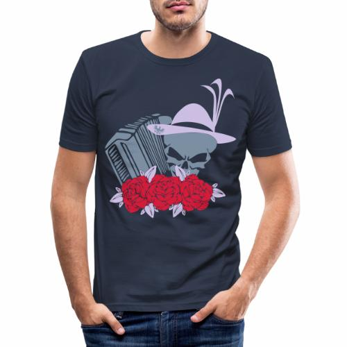 Rock Harmonika - Männer Slim Fit T-Shirt