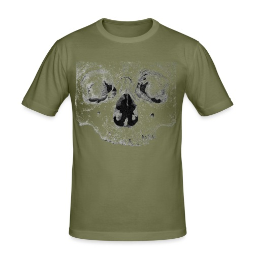 skull - Herre Slim Fit T-Shirt