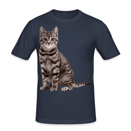 Cute cats (full set) - Men's Slim Fit T-Shirt