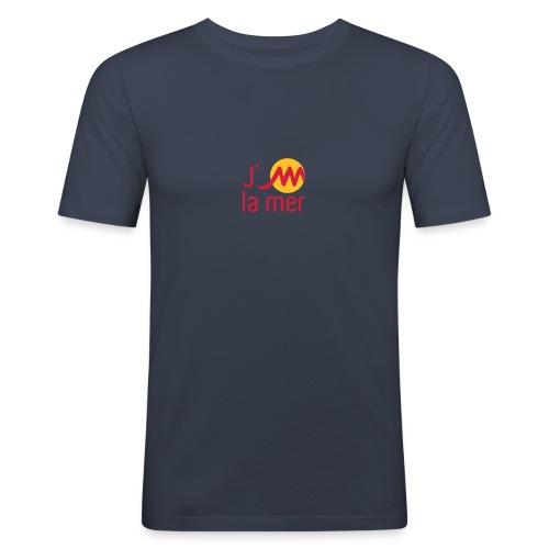 jMmerrougejaune - T-shirt près du corps Homme