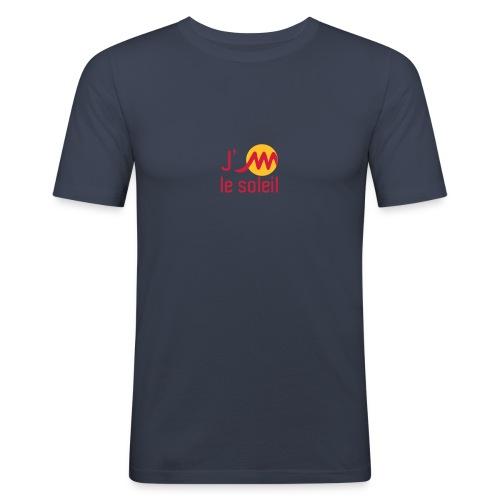 jMsoleilrougejaune - T-shirt près du corps Homme