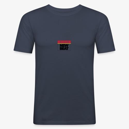 BNB LOGO - Mannen slim fit T-shirt