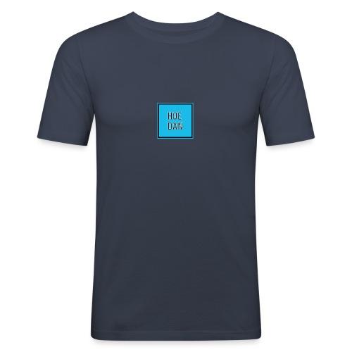 HoeDan Merchandise - Mannen slim fit T-shirt