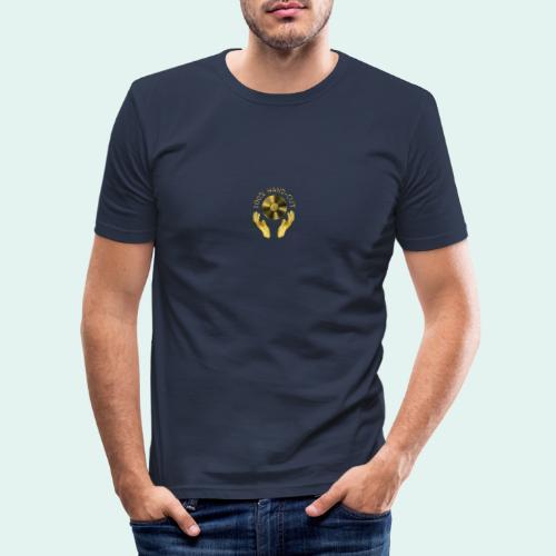 100% HAND-CUT - Men's Slim Fit T-Shirt