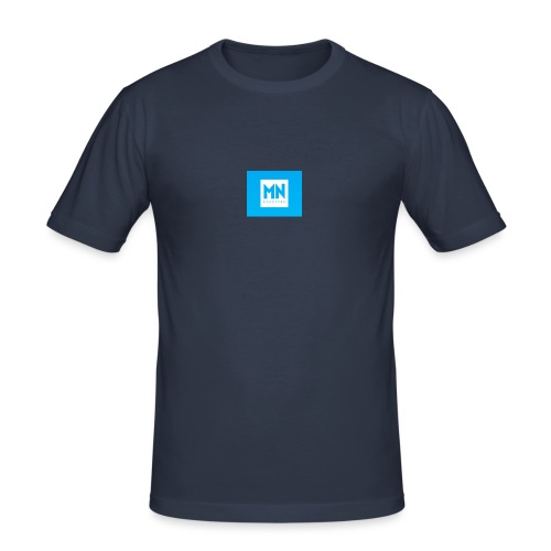 Monopoly box logo - Männer Slim Fit T-Shirt