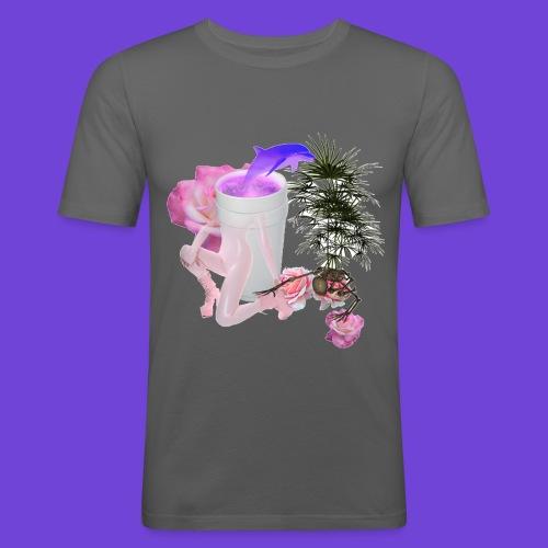 Purple Drank - Maglietta aderente da uomo