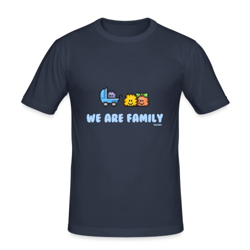 We Are Family - Boy - Männer Slim Fit T-Shirt