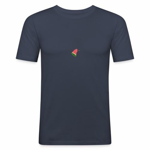 La celebre pasteque garou - T-shirt près du corps Homme
