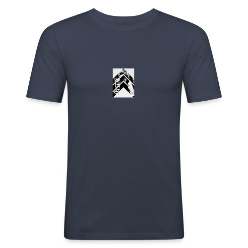 Ski style - T-shirt près du corps Homme