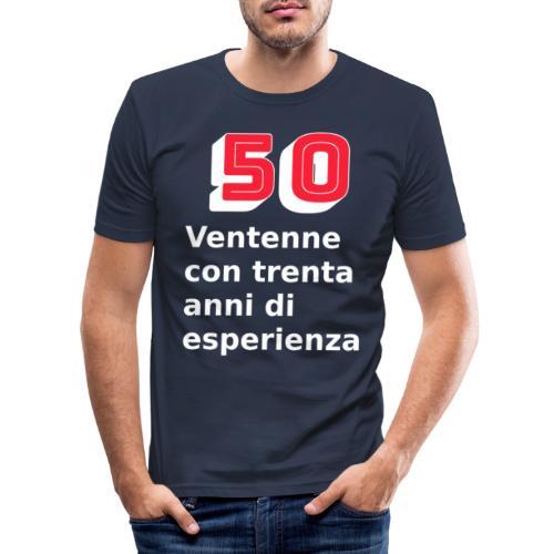 50 anni compleanno - Maglietta aderente da uomo