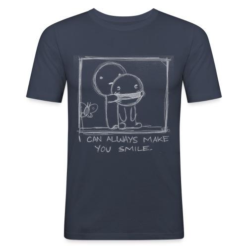 I can make you smile - Camiseta ajustada hombre