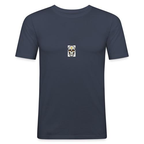 tete de mort - T-shirt près du corps Homme