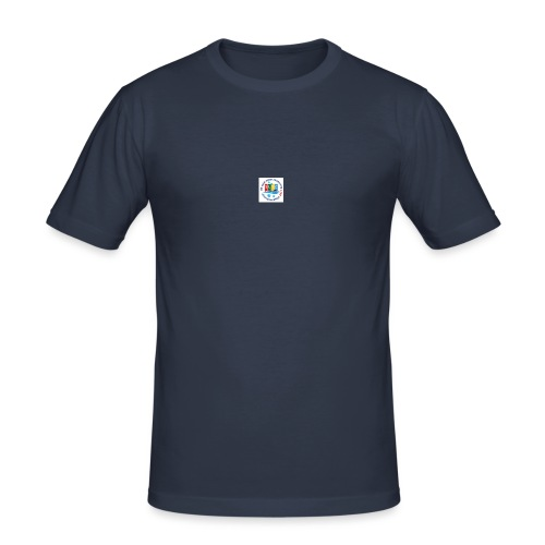 UK cold water swimming championships - Men's Slim Fit T-Shirt