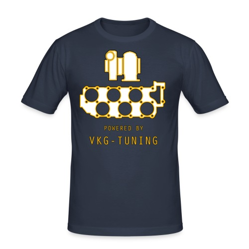 VR6 TURBO - Herre Slim Fit T-Shirt