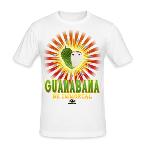 GUANABANA Magic Fruit - Maglietta aderente da uomo