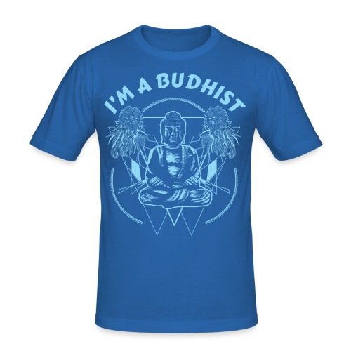 Im a budhist - Slim Fit T-skjorte for menn