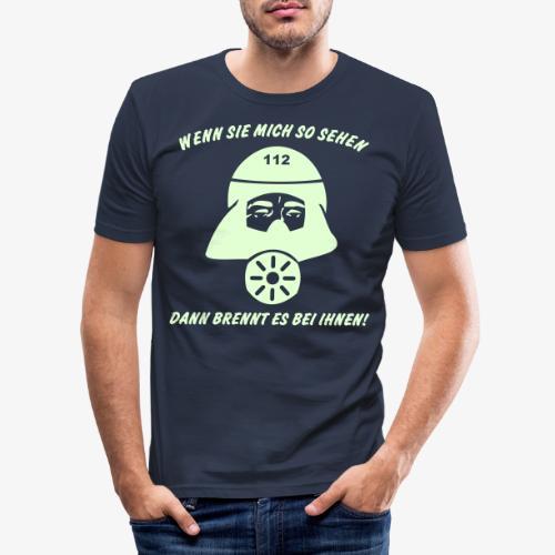 Es brennt bei ihnen! - Männer Slim Fit T-Shirt